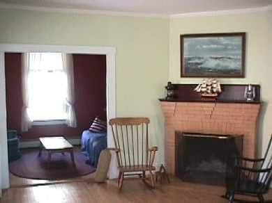 Woods Hole, Falmouth Woods Hole vacation rental - Fireplaced living room and cozy den