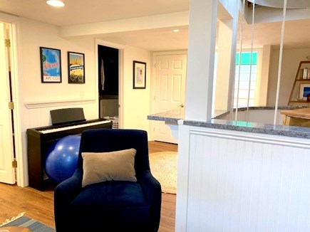 West Hyannisport Cape Cod vacation rental - Lower level family room