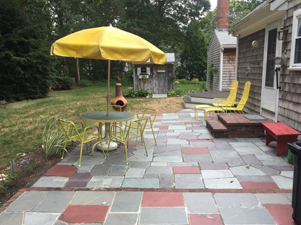 Falmouth Cape Cod vacation rental - Back yard Patio