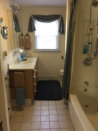 Falmouth Cape Cod vacation rental - Downstairs Bath (Upstairs is similar)