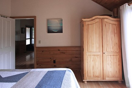 Provincetown Cape Cod vacation rental - Spacious armoire for your clothes storage.