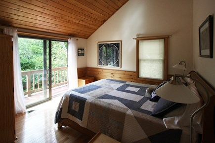 Provincetown Cape Cod vacation rental - Pristine dune forest views from the bedroom!