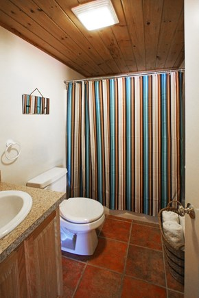 Provincetown Cape Cod vacation rental - The bathroom all ship-shape and tidy for your arrival!