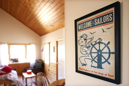 Provincetown Cape Cod vacation rental - Sailors (and everyone else) welcome! :)