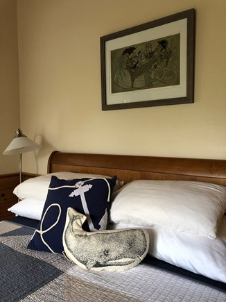 Provincetown Cape Cod vacation rental - Super comfortable bed, pillows, and blankets.