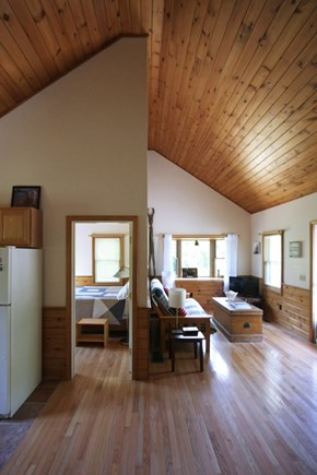 Provincetown Cape Cod vacation rental - High ceilings keep things cool and breezy all summer!
