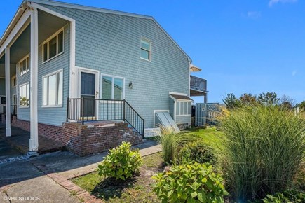 Chatham  Cape Cod vacation rental - Front view of our sunny end unit condo.