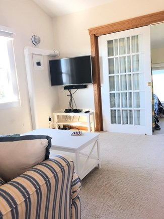 Chatham  Cape Cod vacation rental - Comfortable 2nd family room area with large flat screen tv.