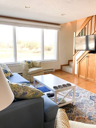 Chatham  Cape Cod vacation rental - Large flat screen tv and Bose sound system in family room.