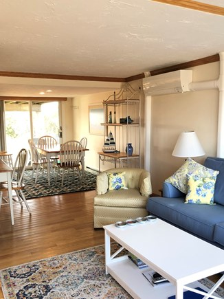 Chatham  Cape Cod vacation rental - Sliders to the back patio with gas grill and outdoor shower.