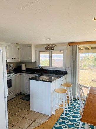 Chatham  Cape Cod vacation rental - Fully equipped kitchen with water view.