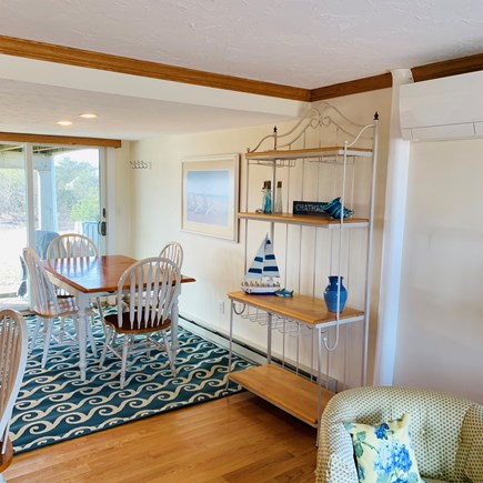 Chatham  Cape Cod vacation rental - Dining area for 6 plus 2 at the breakfast bar.