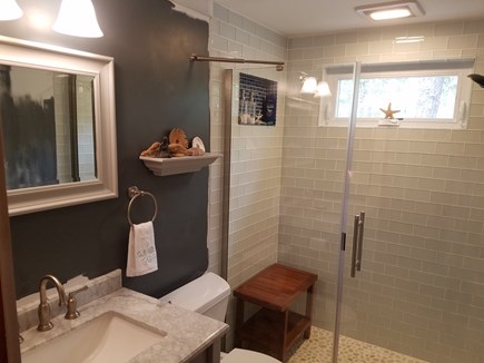 Wellfleet Cape Cod vacation rental - New bathroom, nice large shower