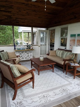 Wellfleet Cape Cod vacation rental - Screened in porch