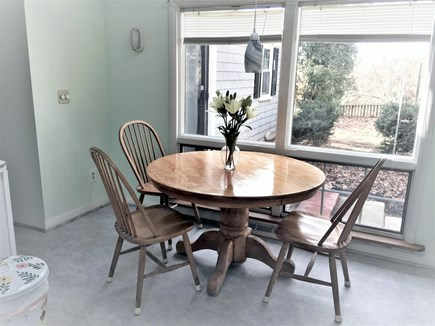 Yarmouth Cape Cod vacation rental - Eat in kitchen