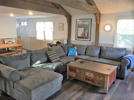 Yarmouth Cape Cod vacation rental - Sectional with double sofabed