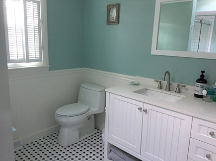 Yarmouth Cape Cod vacation rental - New modern bath  walk in shower W/D)