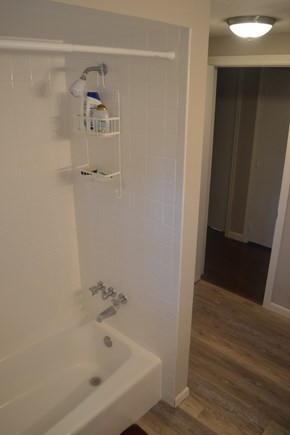Centerville Centerville vacation rental - Main level bathroom with tub.