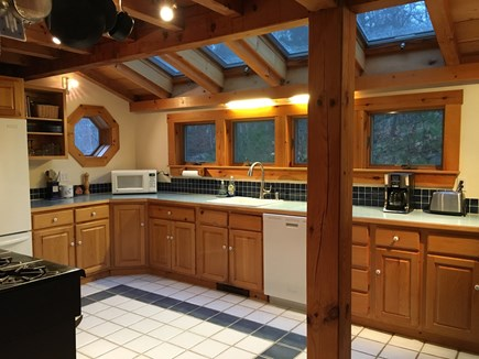 Truro Cape Cod vacation rental - Bright open kitchen.