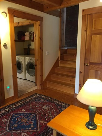 Truro Cape Cod vacation rental - 1st floor foyer entrance - 2 bedrooms and full bath with laundry.