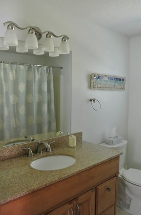 Eastham Cape Cod vacation rental - One of two clean bathrooms with full baths
