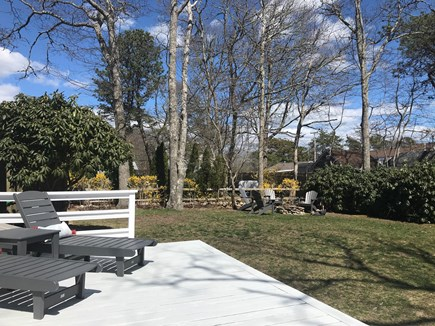 New Seabury / Popponesset New Seabury vacation rental - Private back yard with fire pit