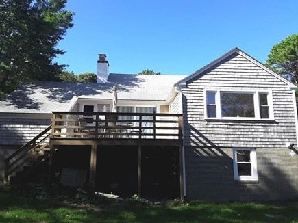 West Dennis Cape Cod vacation rental - Back of house