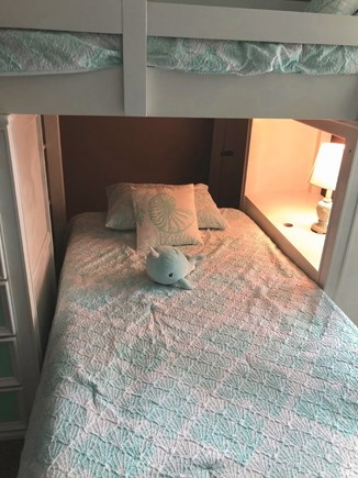 West Dennis Cape Cod vacation rental - Second level bottom bunk