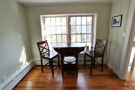 Falmouth Cape Cod vacation rental - Breakfast nook to enjoy the morning at.