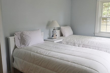 Falmouth Cape Cod vacation rental - 2 comfortable twin beds. Window A/C