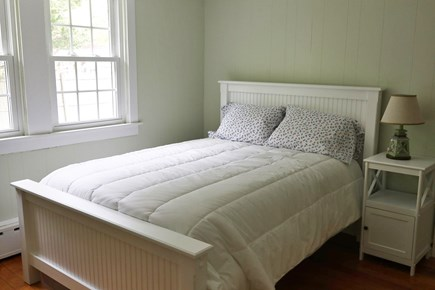 Falmouth Cape Cod vacation rental - Full sized Bed with 3 drawer dresser window A/C.