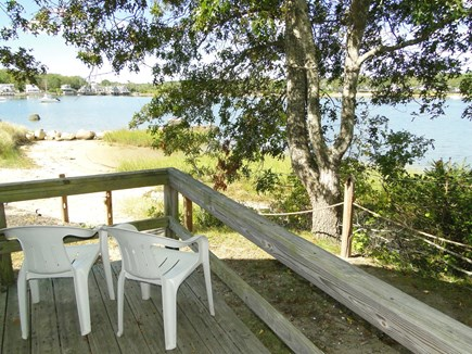 Onset, Buzzards Bay MA vacation rental - Grill out or admire the water views from the deck