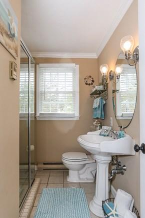 West Yarmouth Cape Cod vacation rental - 1st floor bathroom w/ shower, 2nd floor bathroom w/ full size tub