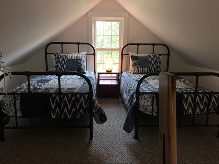 Truro Cape Cod vacation rental - Twin beds in the loft (access via a steep ladder)