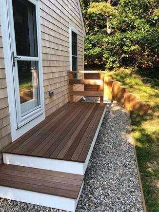 Truro Cape Cod vacation rental - Deck off kitchen