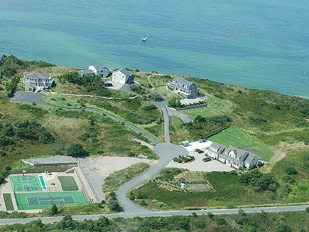Truro Cape Cod vacation rental - Hawk's eye view of Mary's Way.