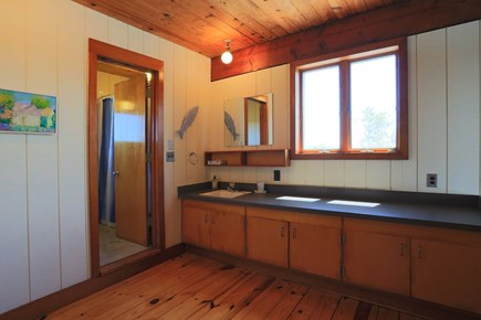 Truro Cape Cod vacation rental - Master Bathroom