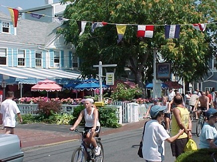 Provincetown Cape Cod vacation rental - A shuttle bus outside our lot takes you to town and Ptown beaches
