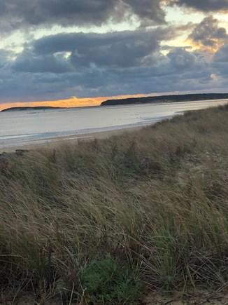Wellfleet Cape Cod vacation rental - Sunset sky scape of Mayo Beach.