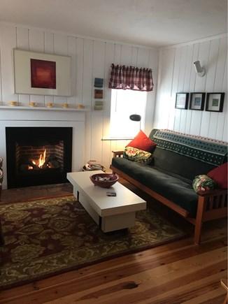 Wellfleet Cape Cod vacation rental - Cozy living room.