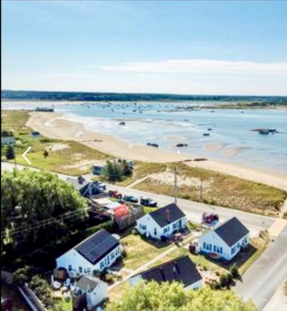 Wellfleet Cape Cod vacation rental - Aerial view of complex MayoBeach across the street!