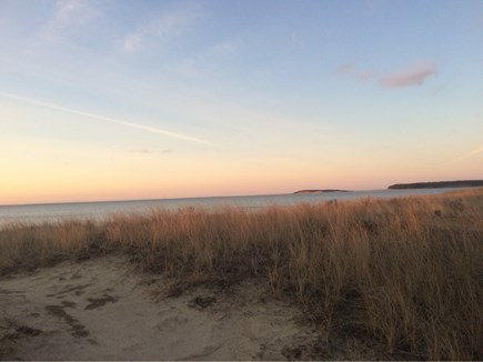 Wellfleet Cape Cod vacation rental - Early morning dune peace...Bring your coffee!