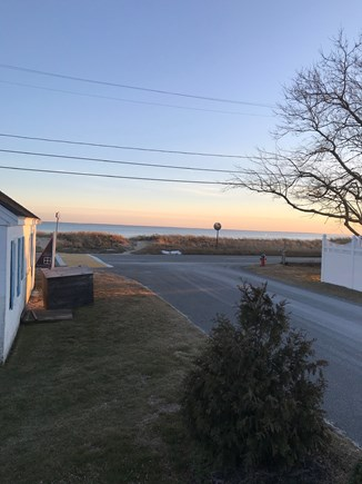 Wellfleet Cape Cod vacation rental - Morning View from front door!