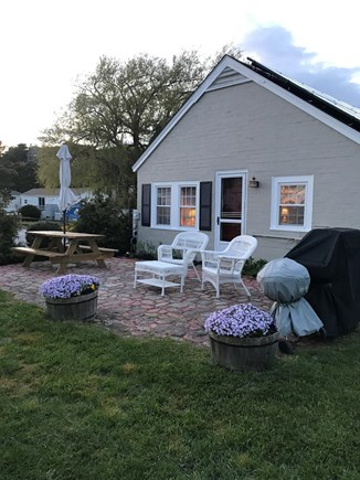 Wellfleet Cape Cod vacation rental - Beach Rose Cottage #3 at dusk.