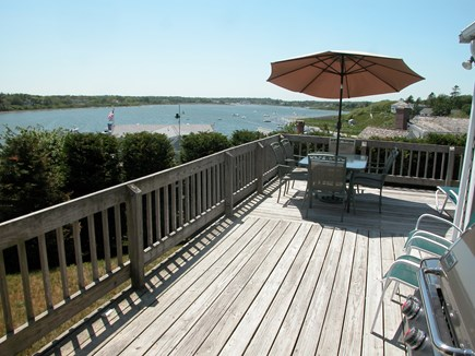 Chatham Cape Cod vacation rental - Wraparound deck has spectacular water views of the Oyster Pond