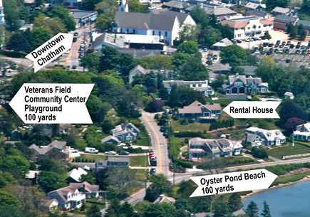 Chatham Cape Cod vacation rental - STEPS TO EVERYTHING! The Beach and Center are an easy walk away!