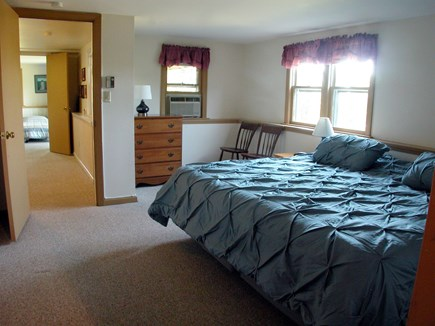 Chatham Cape Cod vacation rental - Bright downstairs Bedroom - king bed (or 2 twins) & dressing room