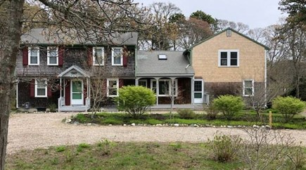 Eastham Cape Cod vacation rental - View of the house from the front yard