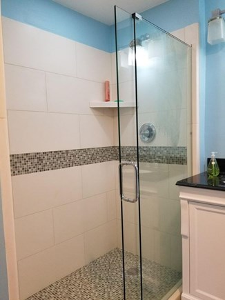 Eastham Cape Cod vacation rental - Walk-in shower in one of the renovated bathrooms