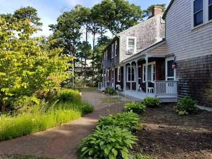 Eastham Cape Cod vacation rental - View across front of house